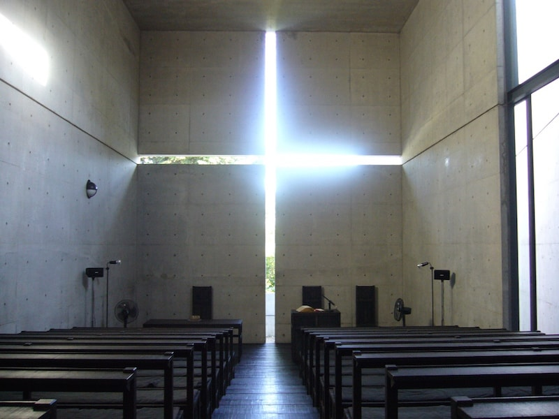 church of light tadao ando