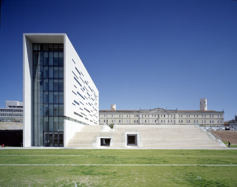 manuel aires mateus rector office university lisbon